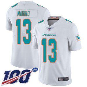 Dolphins Dan Marino 100th Season Jersey 3